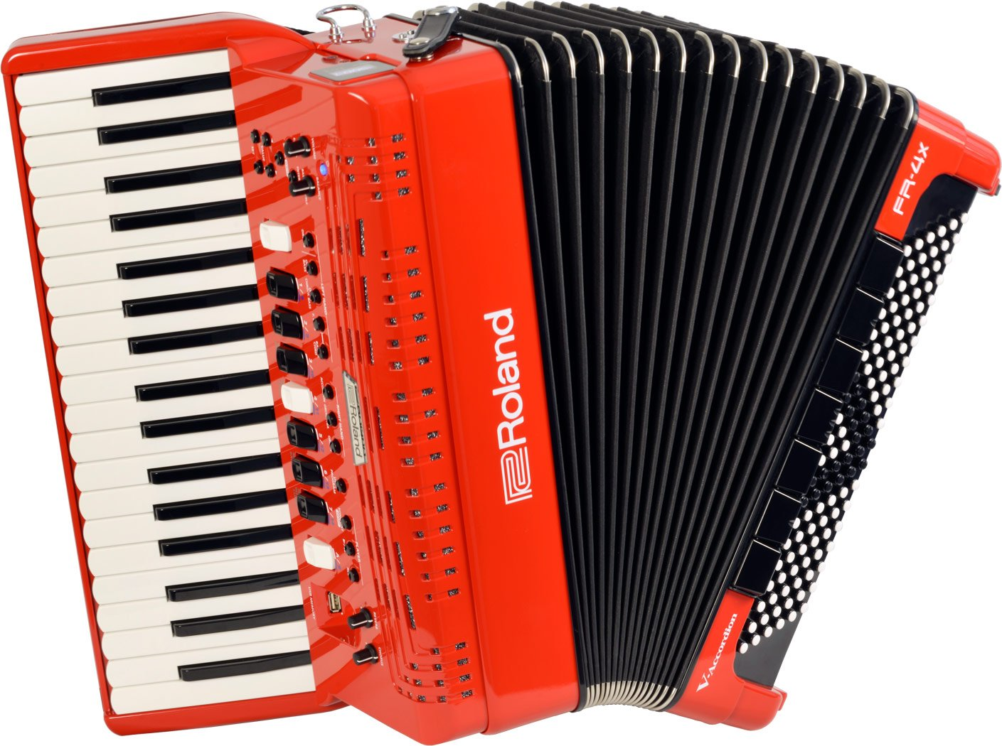 NEW Red Roland FR-4X-RD Piano Accordion 37 120
