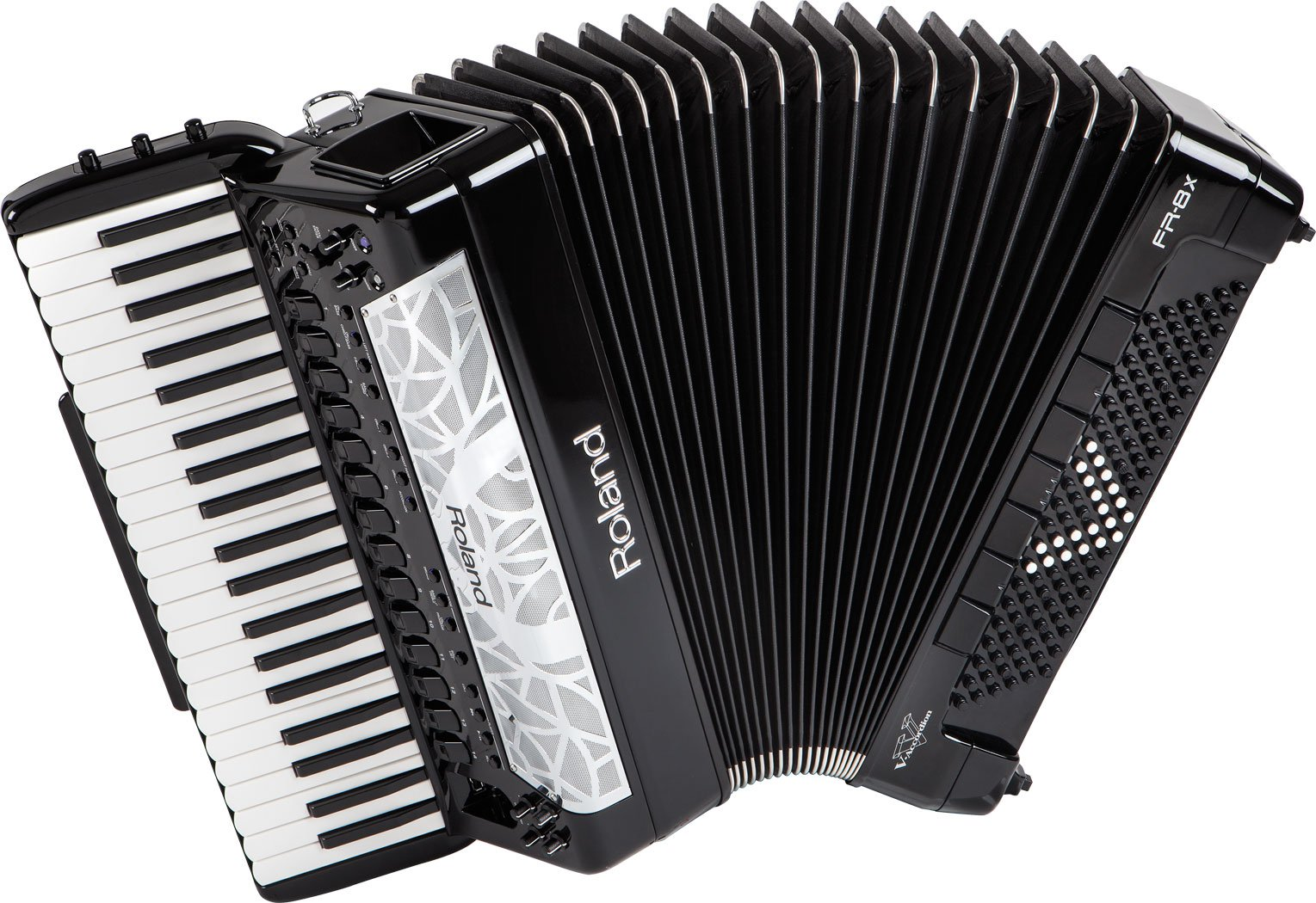 NEW Black Roland FR-8X-BK Digital Piano Accordion 41 120