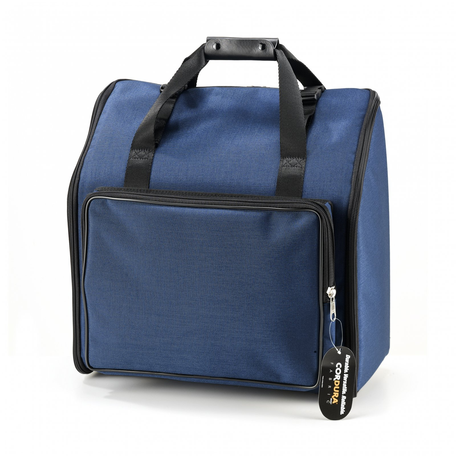 NEW Blue Fuselli Gig Bag for Accordion 14 x 14 x 8