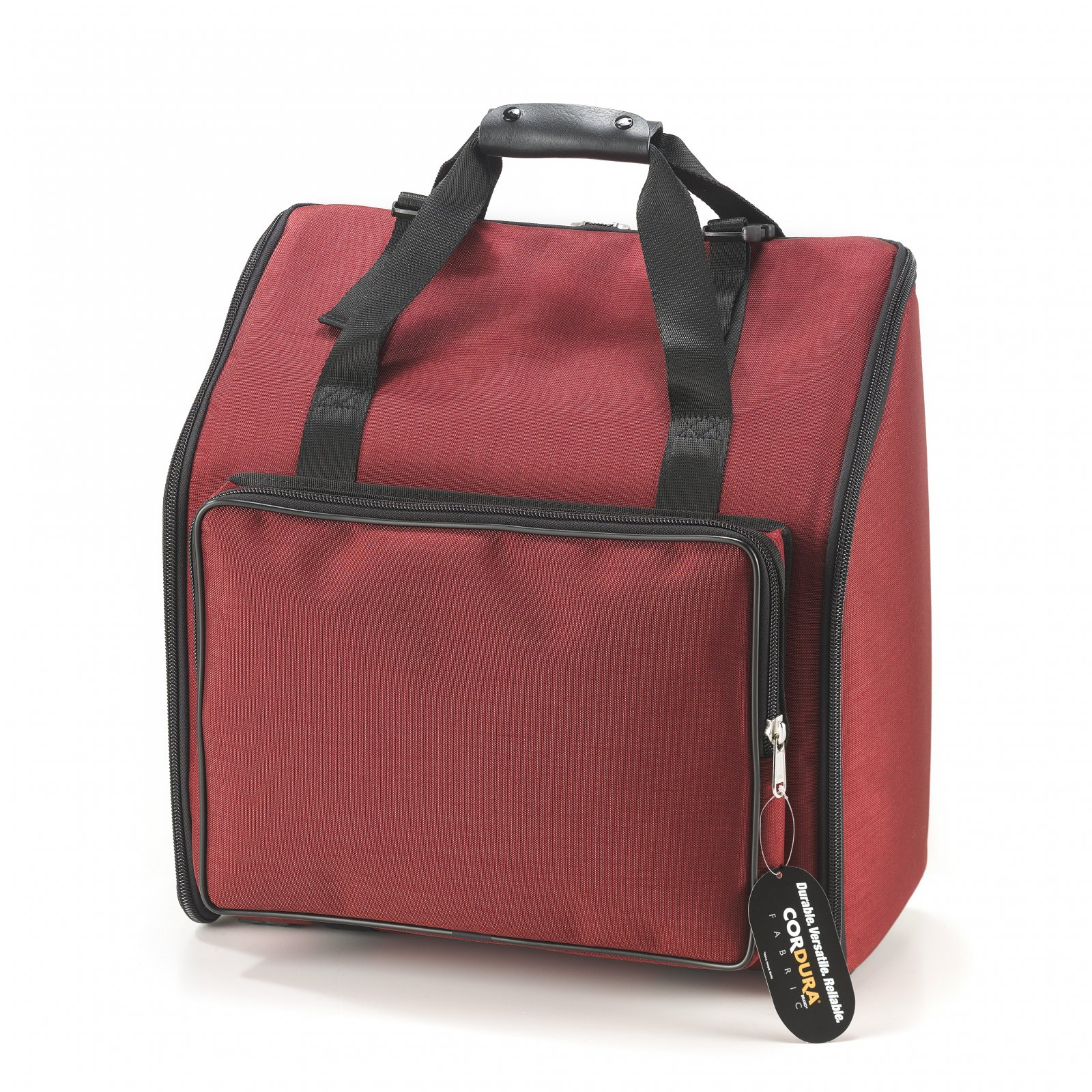 NEW Red Fuselli Gig Bag for Accordion 20 x 18 x 9