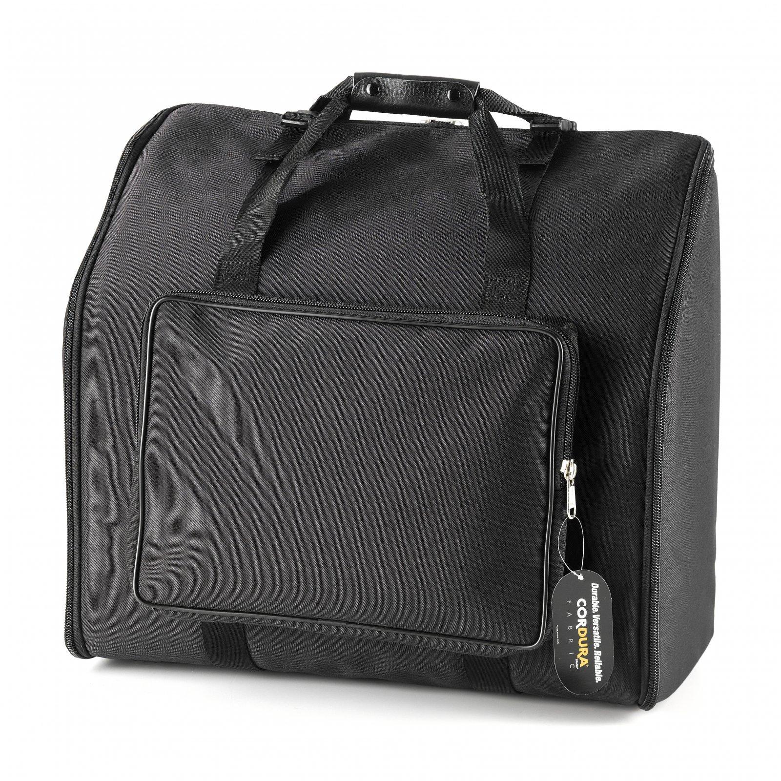 NEW Black Fuselli Gig Bag for Chromatic Button Accordion 19.5' x 16.5 x 10