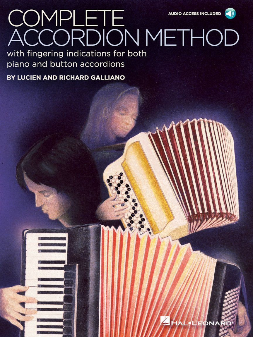 Complete Accordion Method by Lucien and Richard Galliano - Online Audio Inlcuded