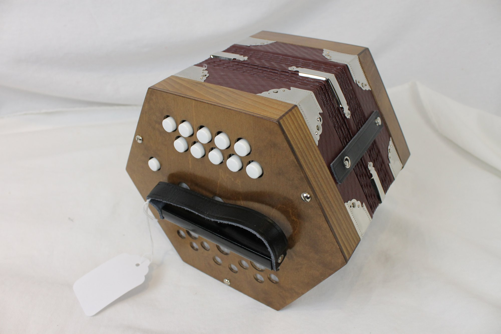 NEW Walnut Weltmeister 607 Anglo Concertina DG 20
