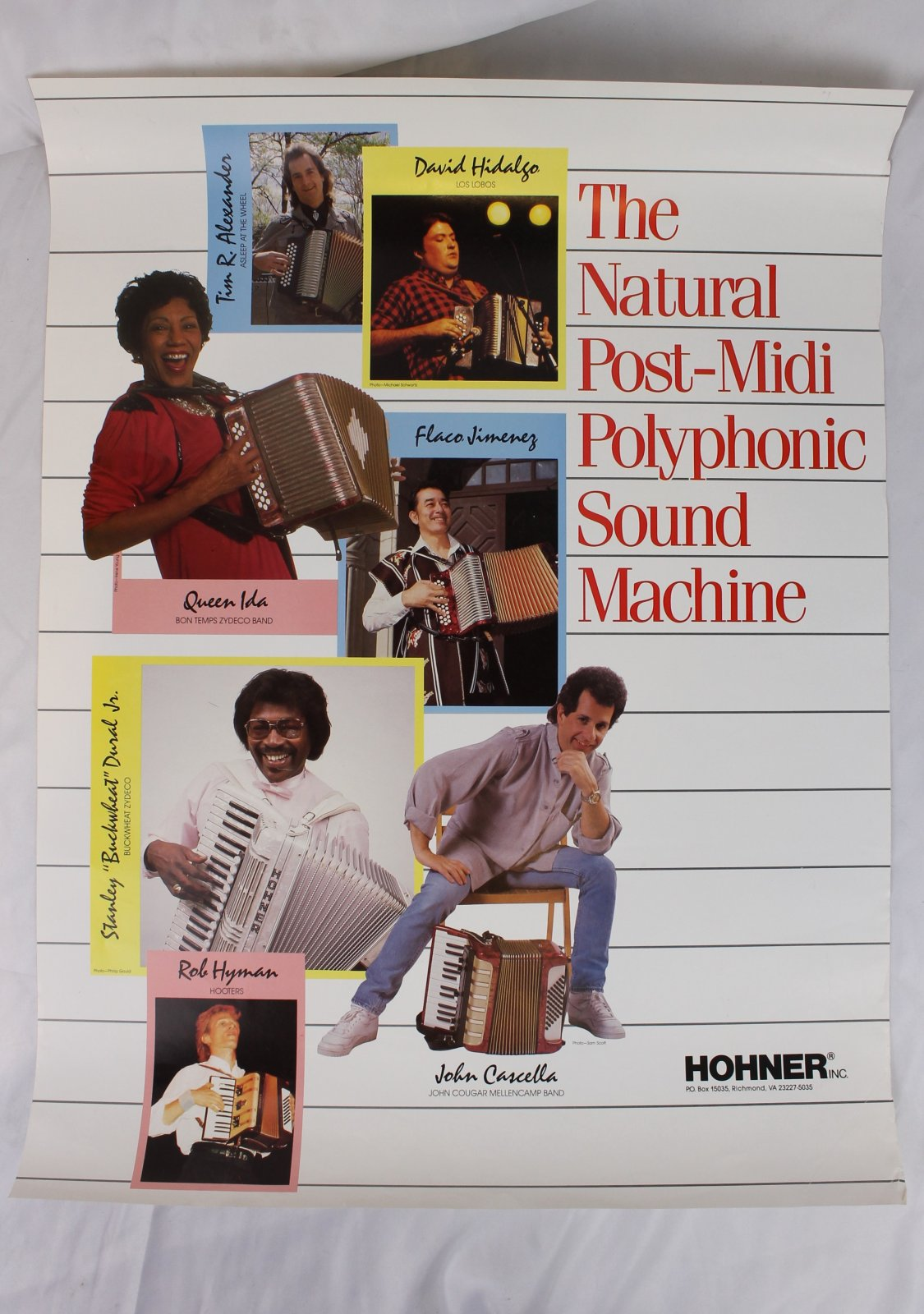 24 x 18 Poster - Hohner: The Natural Post-Midi Polyphonic Sound Machine