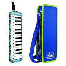 NEW Blue Hohner Airboard Jr. Melodica 25