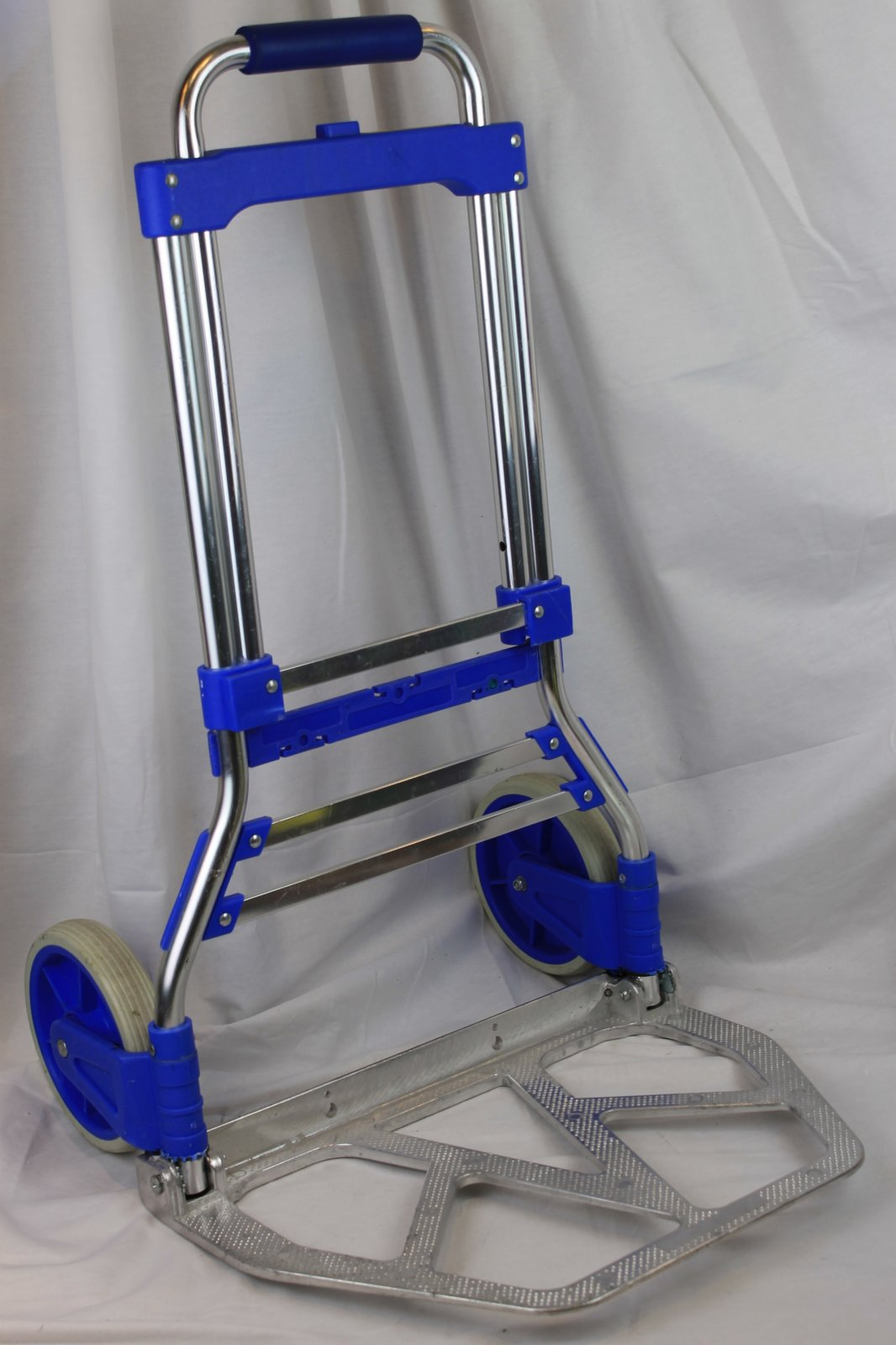 Folding Hand Truck Light Weight Portable Trolley Cart for Accordion Case or Amp