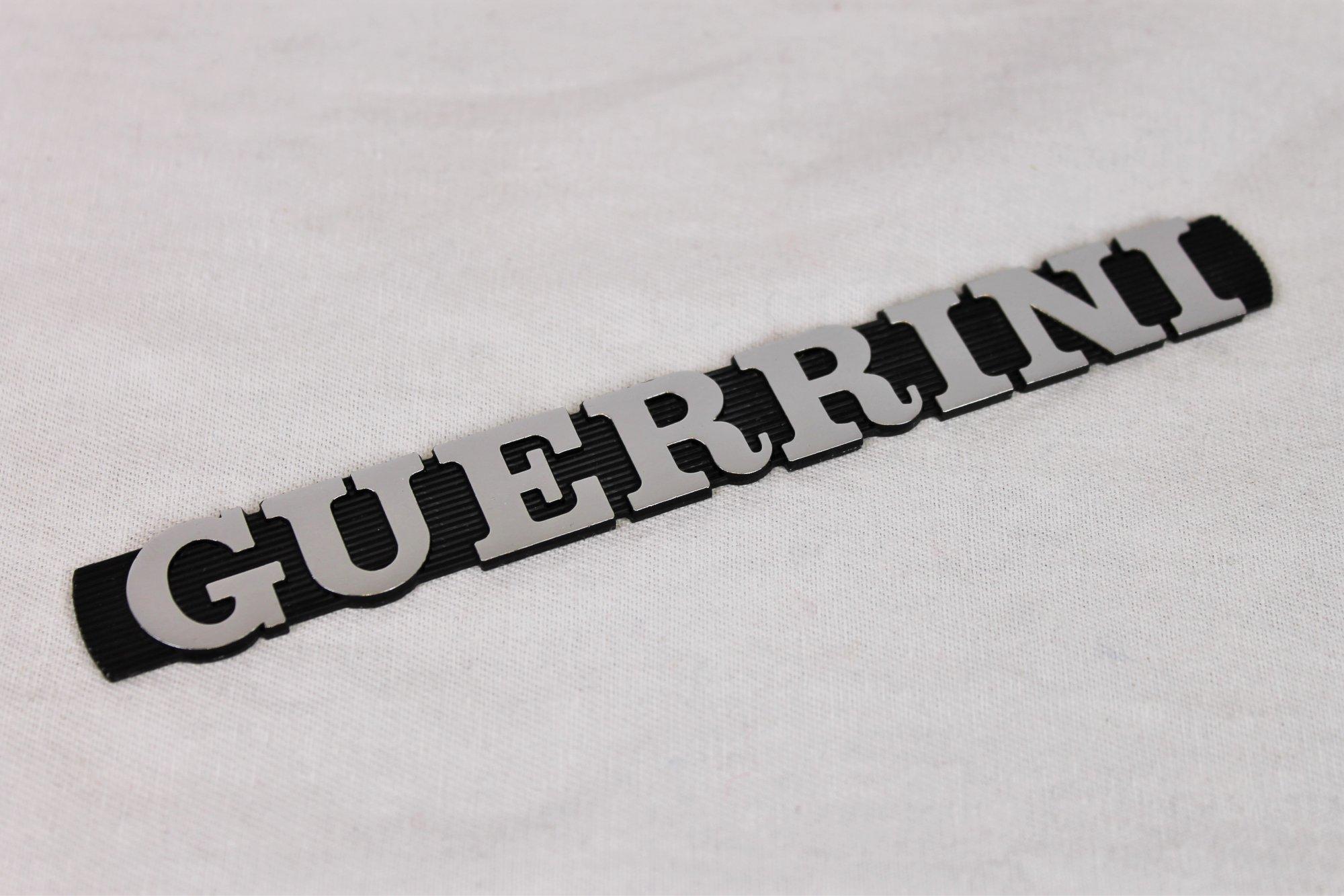 Accordion Part - Metal Guerrini Logo Emblem