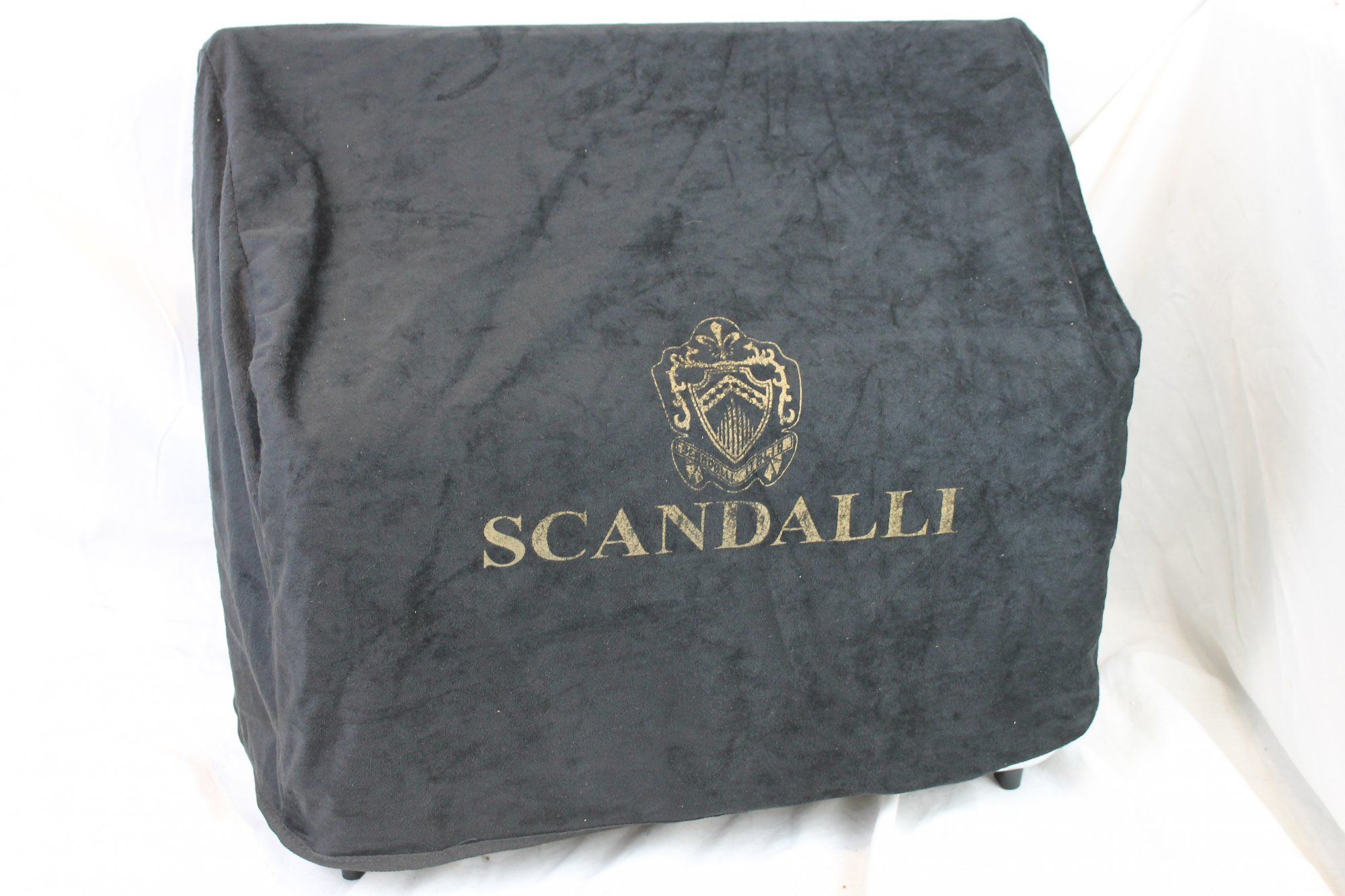 NEW Scandalli Velour Dust Cover for Accordion - Large 21.5 x 17.5 x 9