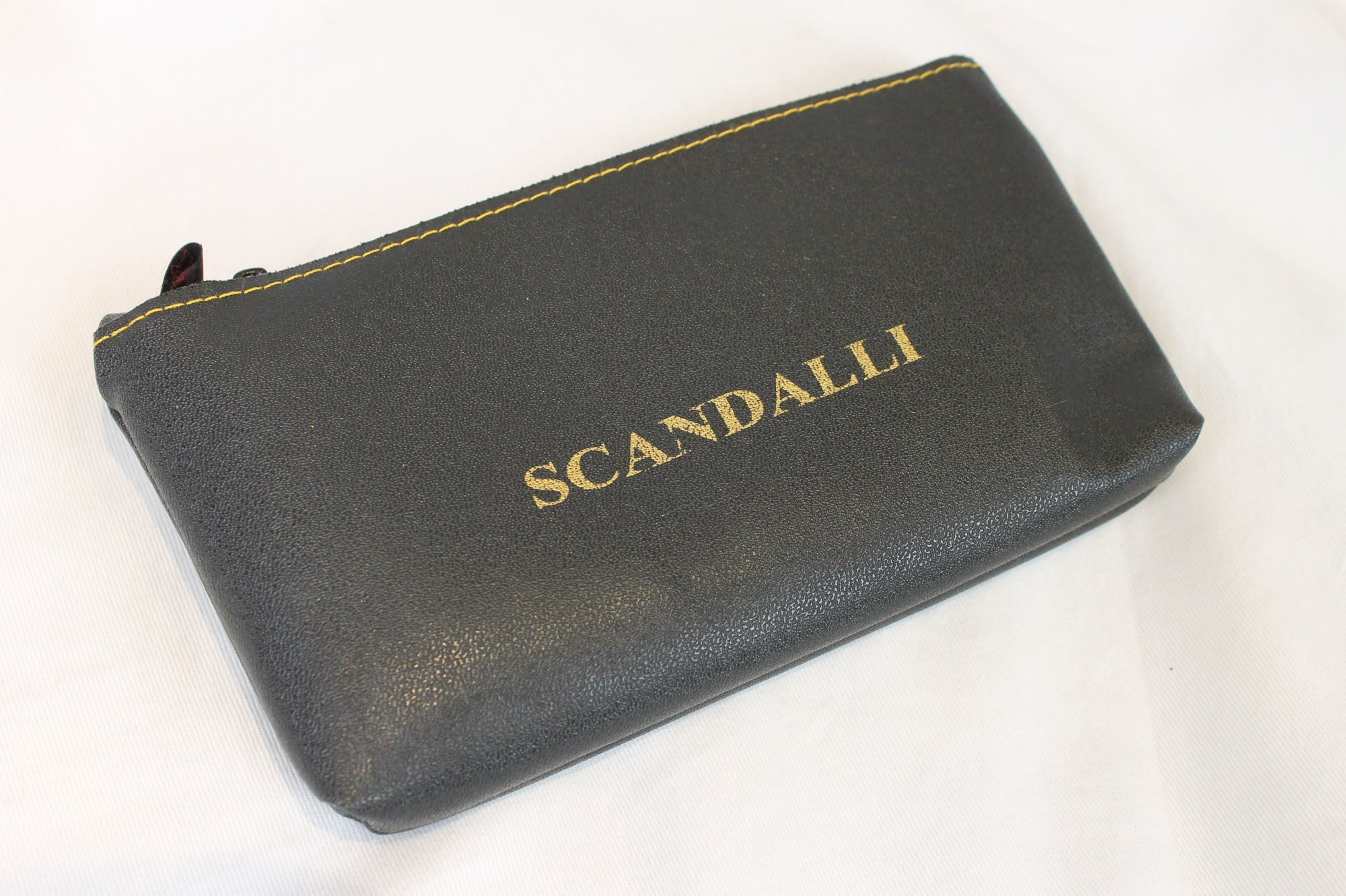 New Scandalli Accordion Pouch and Cleaning Cloth