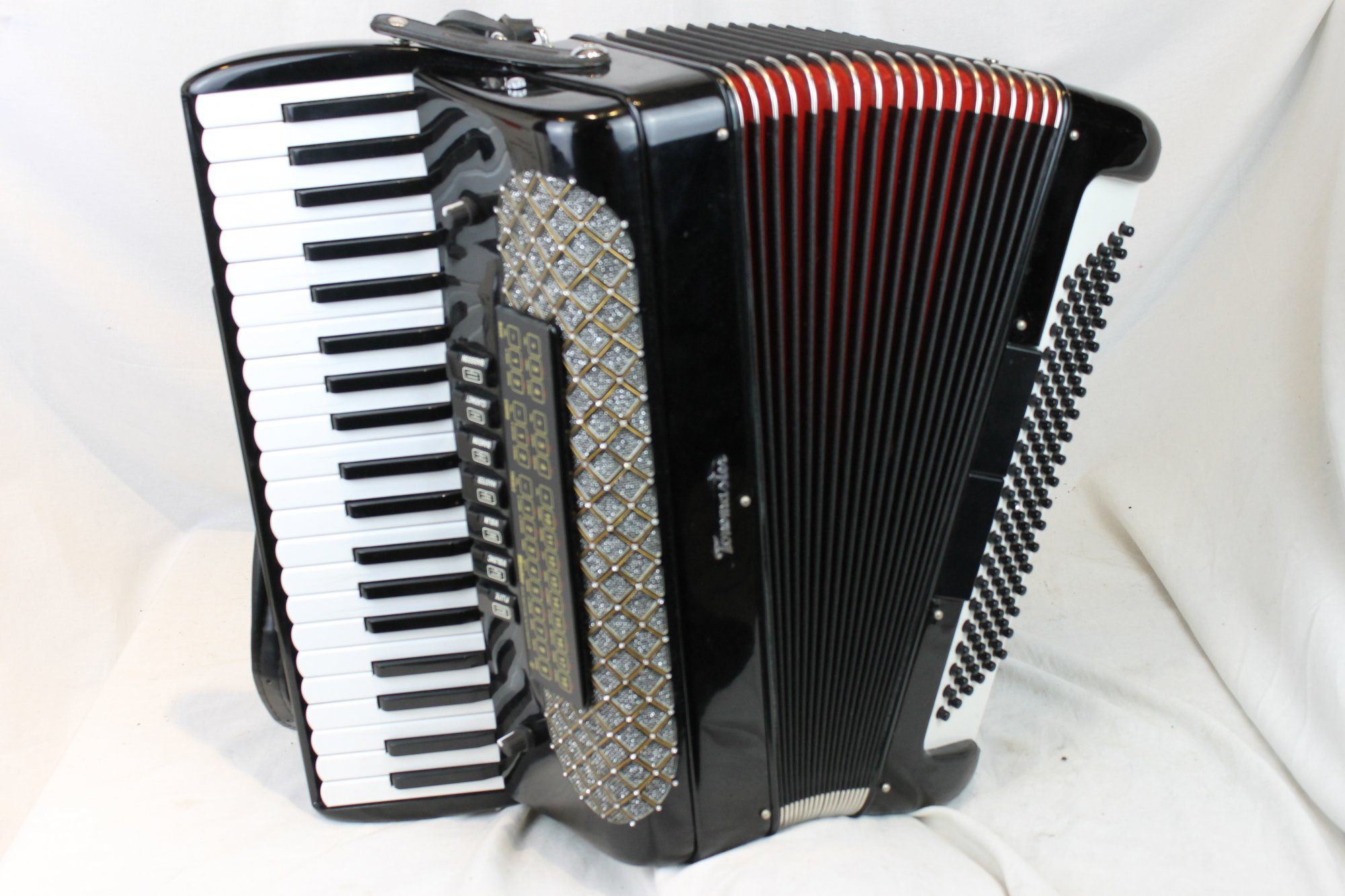 3481 - Black Tonemaster Piano Accordion LMM 41 120