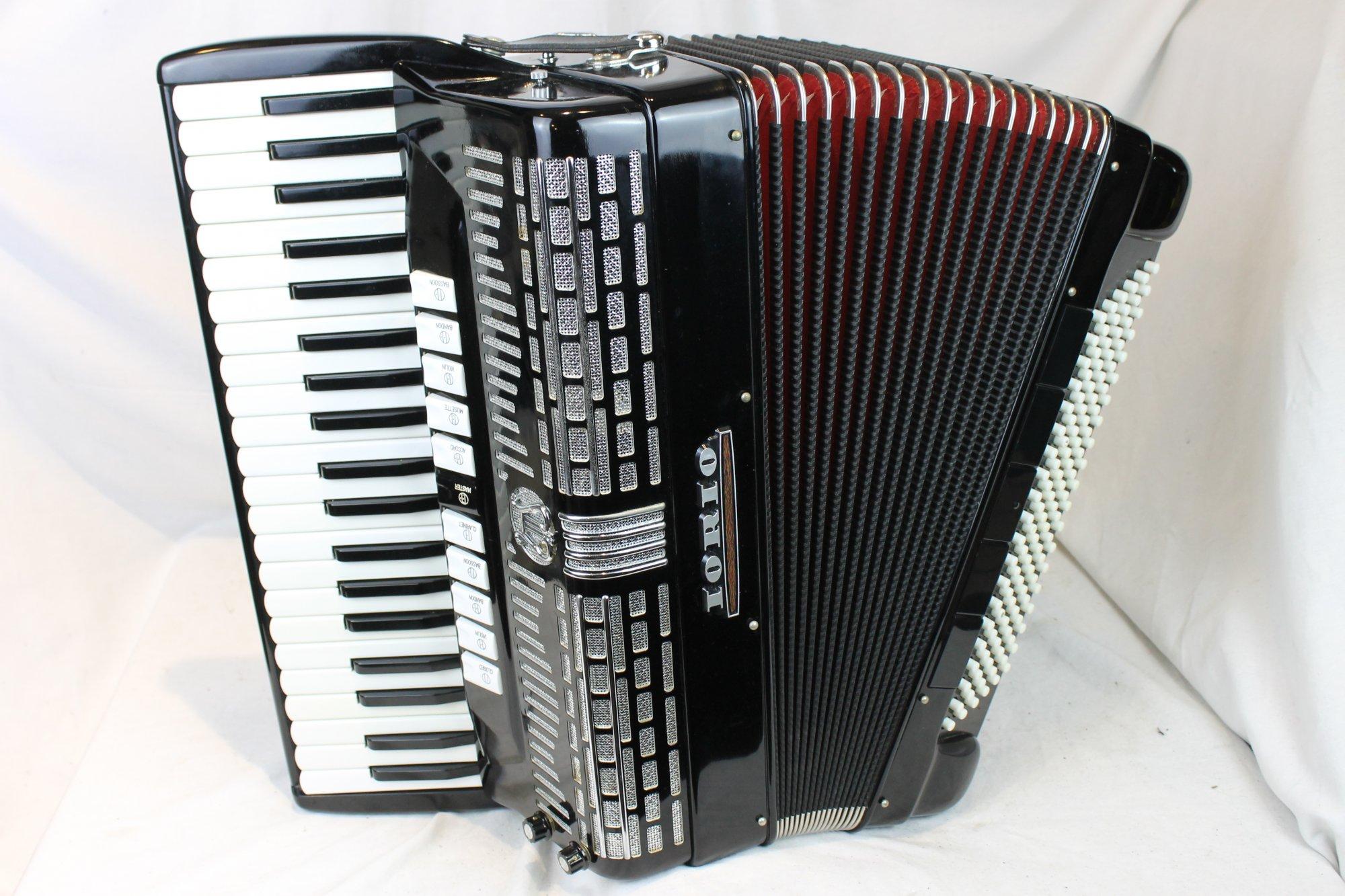 3491 - Black Iorio Accorgan Piano Accordion LMMM 41 120