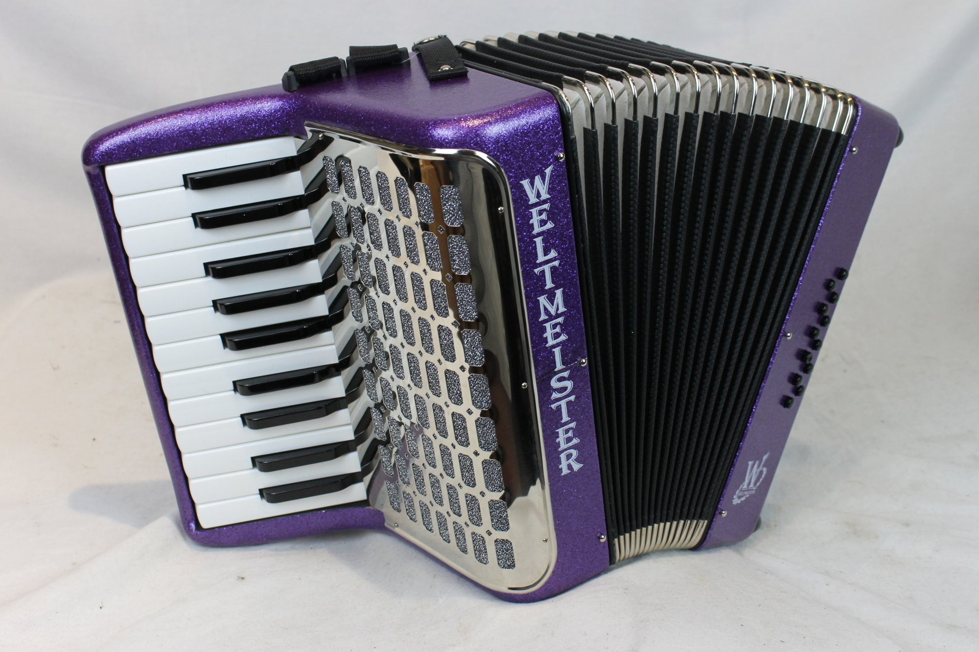 NEW Violet Weltmeister Mini Piano Accordion MM 22 12