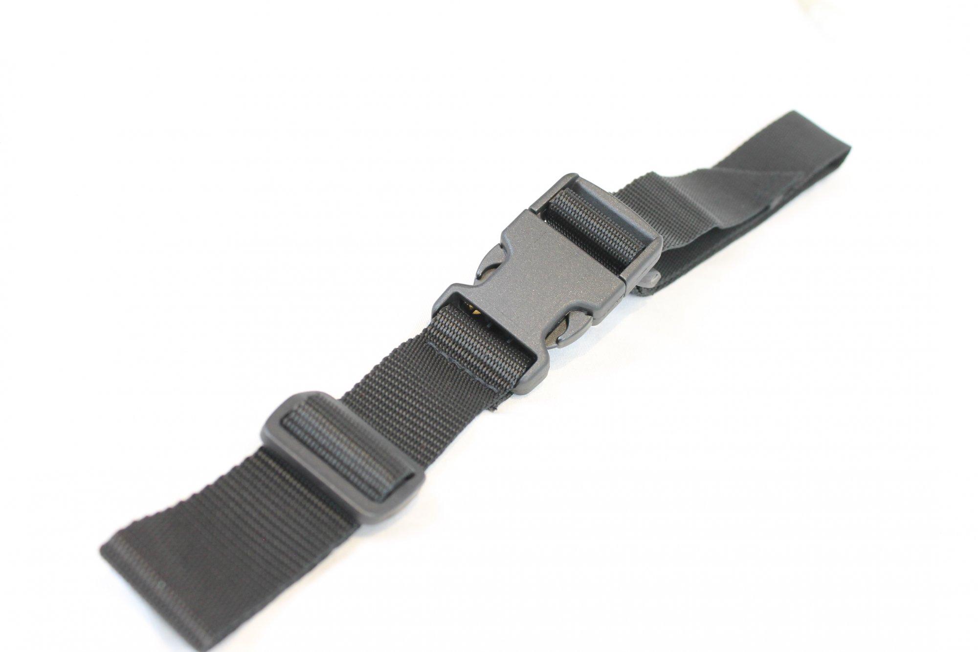 NEW Black Fuselli Nylon Back Strap - Adjustable 10 to 26