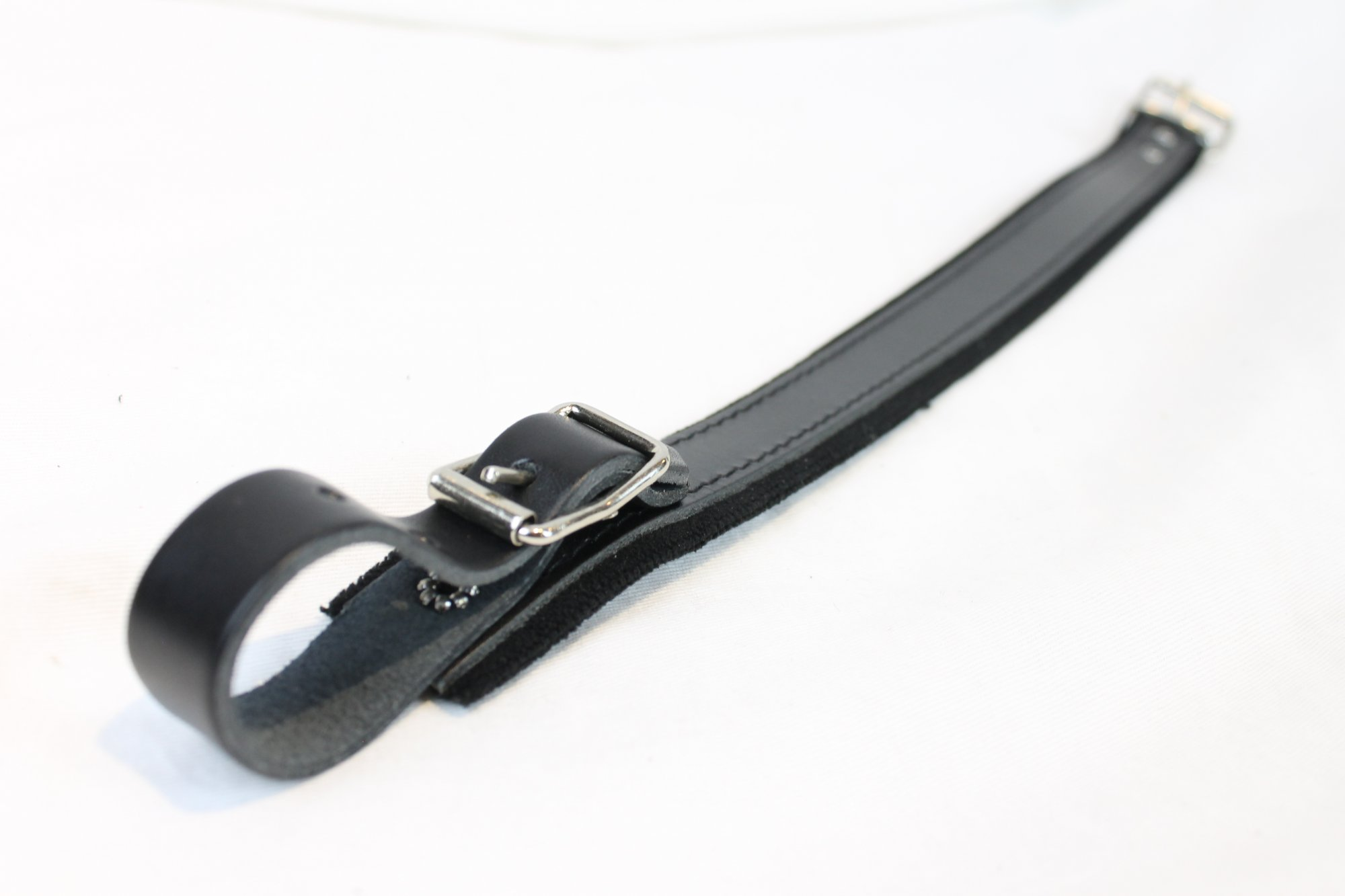 NEW Black Fuselli Velour Shoulder Strap Extender Width (3.2cm / 1.25in) Length (49cm / 19.5in)