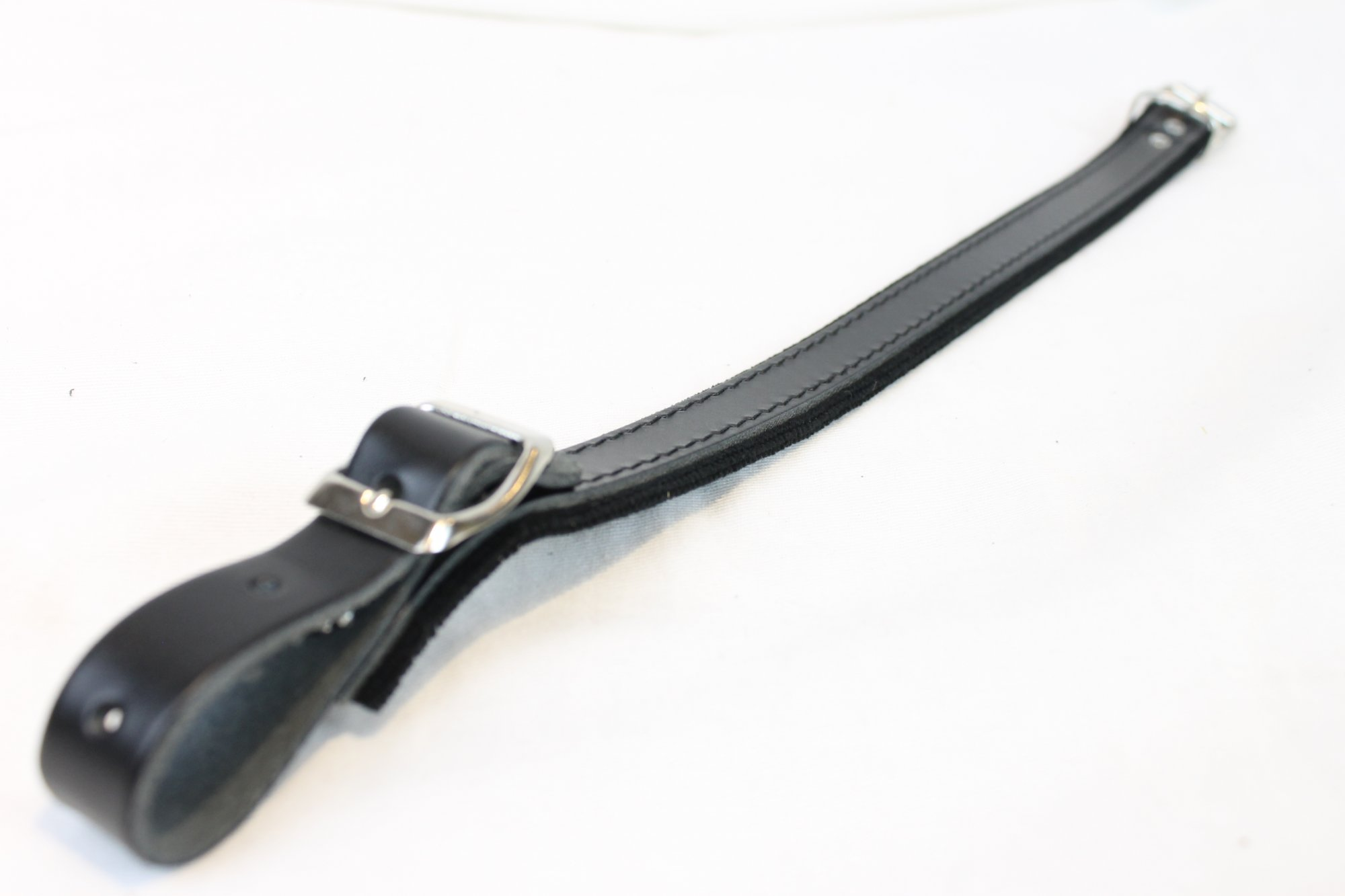 NEW Black Fuselli Velour Shoulder Strap Extender Width (2.8cm / 1in) Length (42cm / 16.5in)