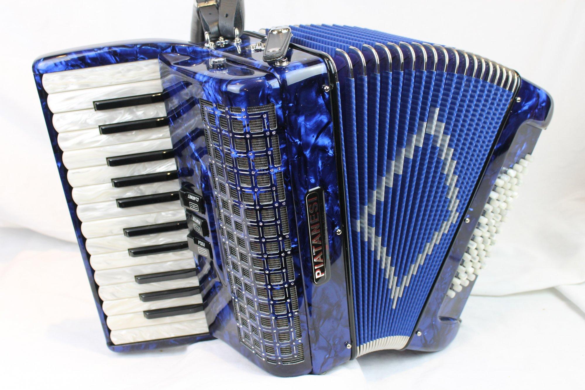 3540 - Blue Ottavianelli Piatenesi Piano Accordion MM 26 60