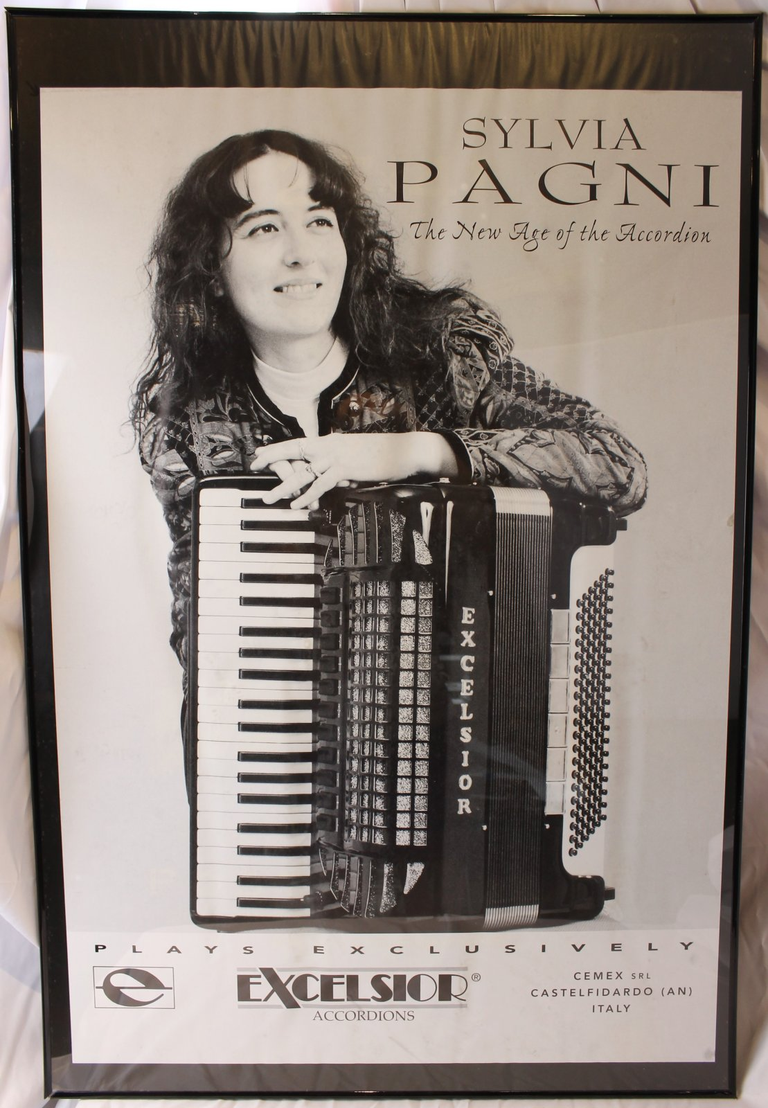 41 x 27 Framed Poster - Sylvia Pagni, Excelsior
