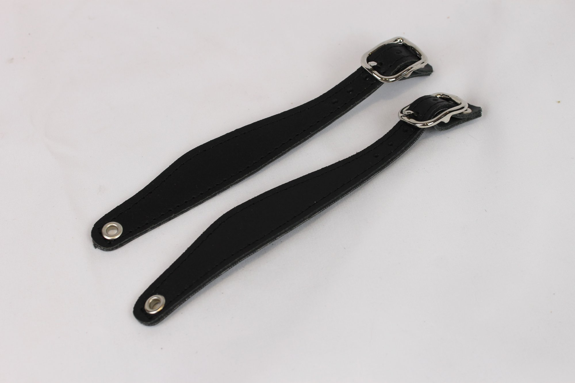NEW Black Leather Bandoneon Hand Strap - Pair of 2 Pieces