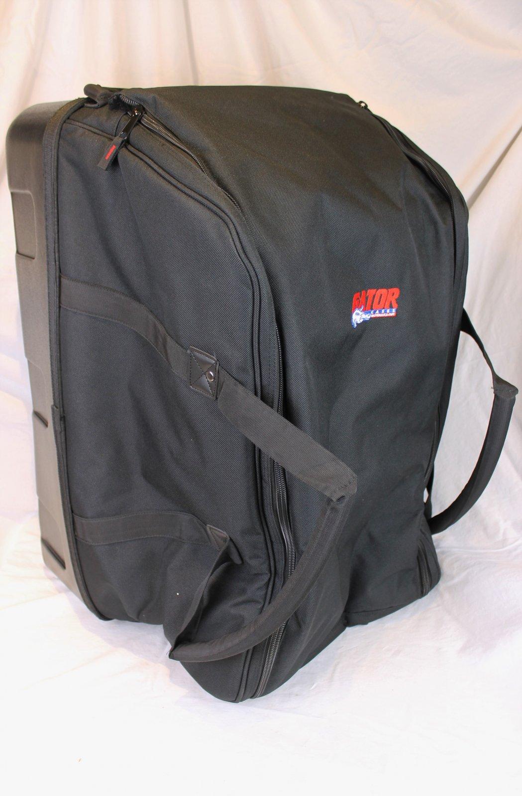 Gator Deluxe 15 Rolling Speaker Bag