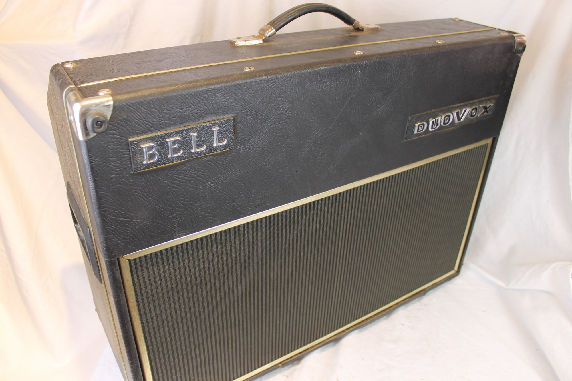 6150 - Bell Duovox Transistorized Instrument Amplifier - For Parts or Repair