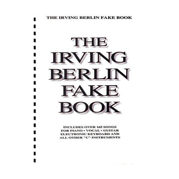 Irving Berlin Fake Book - C Edition