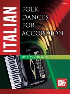 Italian Folk Dances for Accordion (Book)