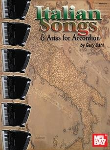 Italian Songs & Arias for Accordion (Book)