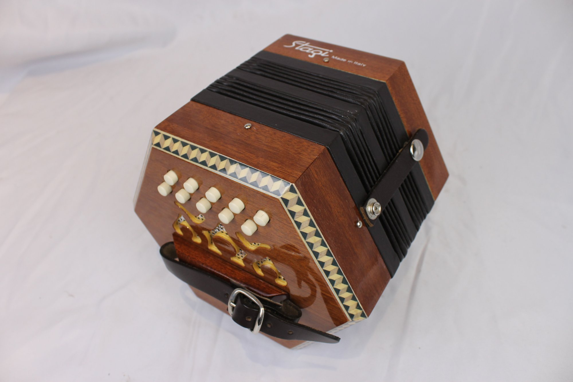 5048 - Stagi C-2 Anglo Concertina DG LM 20