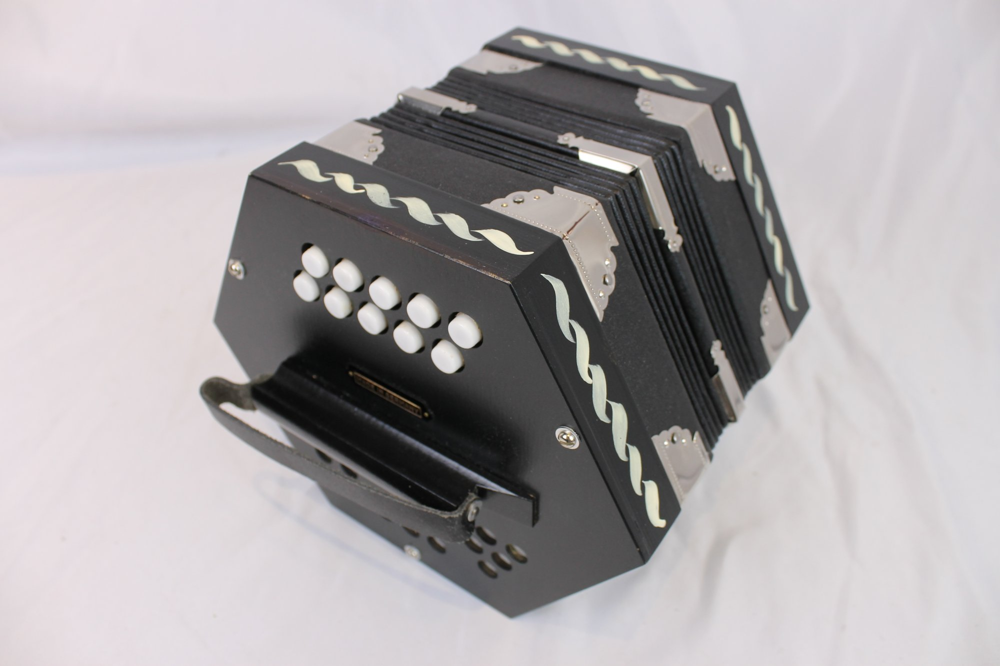 NEW Black Scholer Anglo Concertina AD M 20