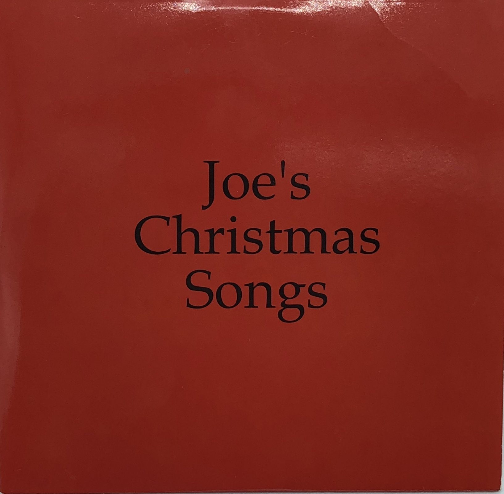 Joe's Christmas Songs