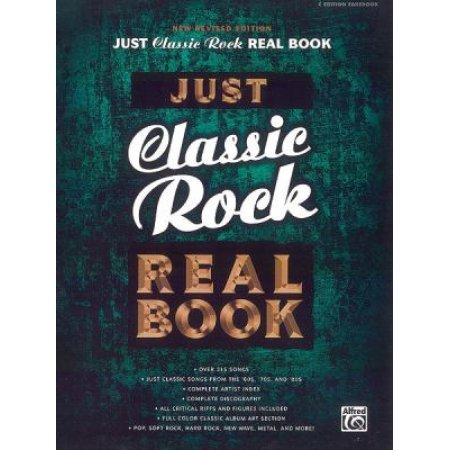 Just Classic Rock Real Book C edition