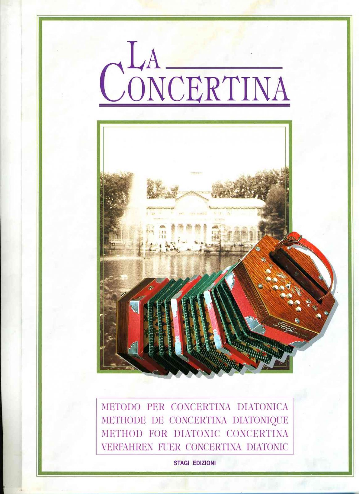 La Concertina Method for Concertina Instruction Book