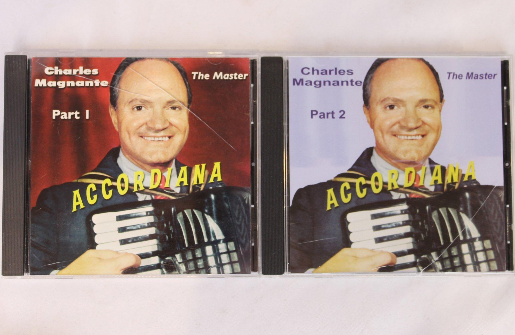 Charles Magnante, The Master: Accordiana (Set of Two CDs)