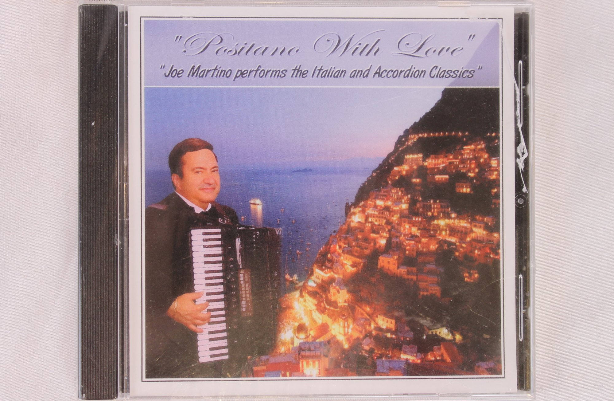 Positano with Love: Joe Martino performs the Italian and Accordion Classics (CD)
