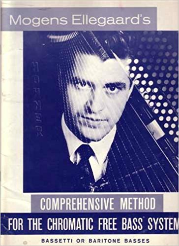 Mogens Ellegaards Comprehensive Method for the Chromatic Free Bass System C Griff New Old Stock Hohner Vintage