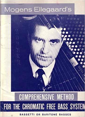 Mogens Ellegaards Comprehensive Method for the Chromatic Free Bass System C Griff Hohner Vintage