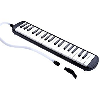 New Black D'luca 32 Melodica