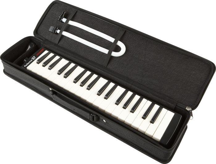 New Black Hohner Performer 37 Melodica
