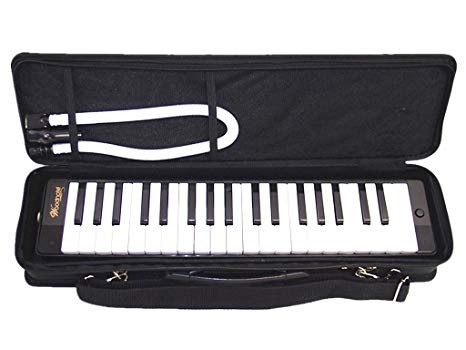New Black Woodnote Melodica 37