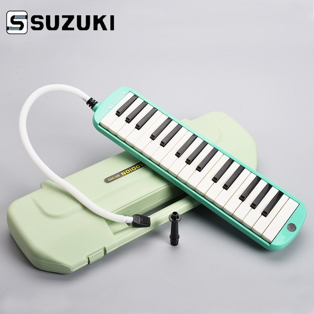 New Green Suzuki MX-32C Melodion 32 Key Melodica