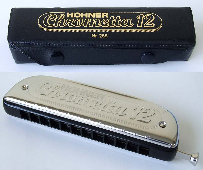 NEW Hohner Chrometta 12 Chromatic Harmonica Key of C