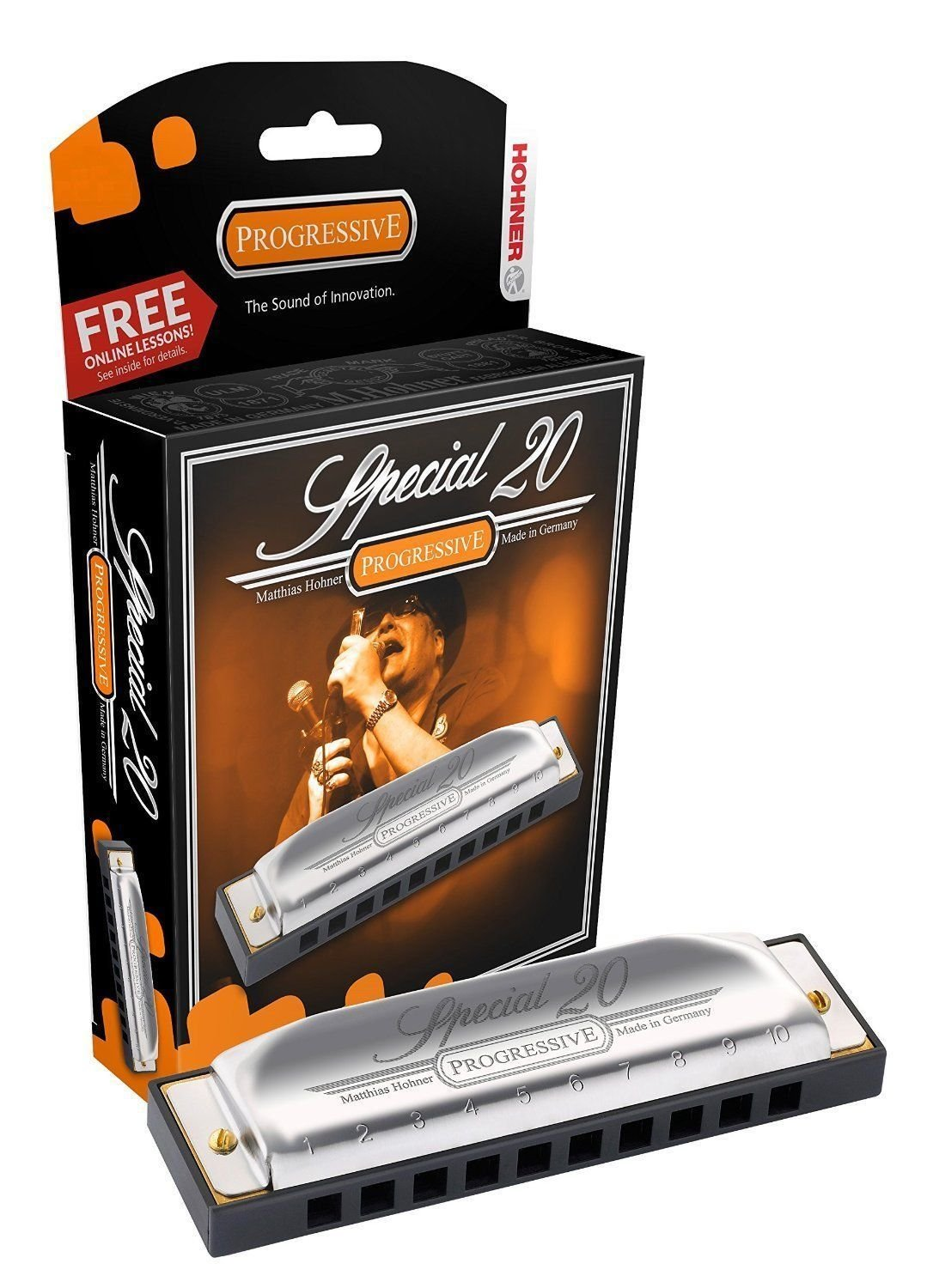 New Hohner Special 20 Diatonic Harmonica Key of C