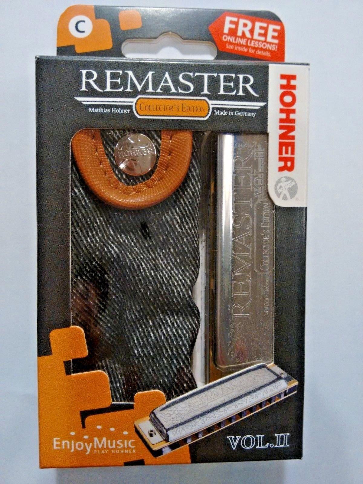 New Hohner Remaster Vol.II Harmonica