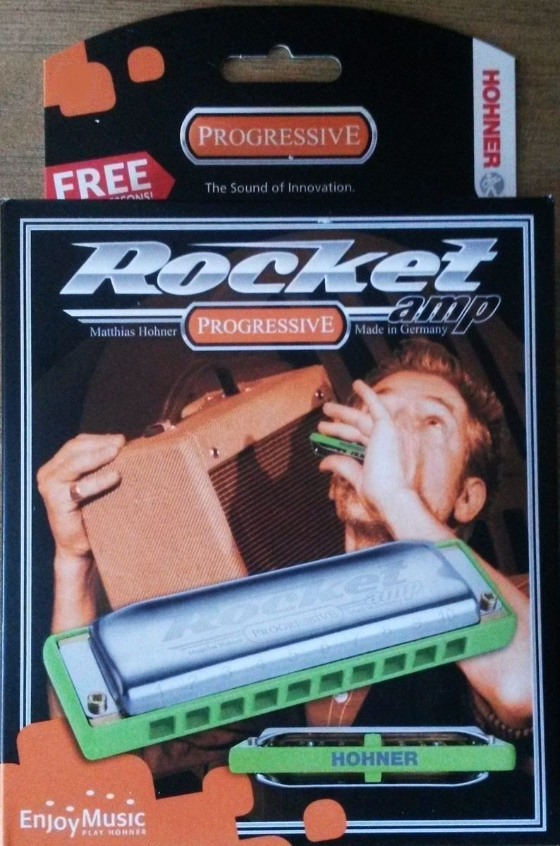 New Hohner Rocket Amp Harmonica