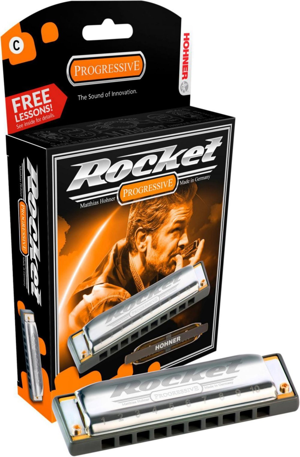 New Hohner Rocket Harmonica