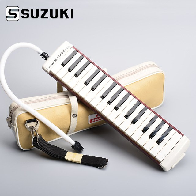New Red Suzuki S-32 Soprano Melodica 32 Key Melodica