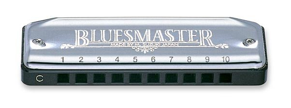 New Suzuki Bluemaster Harmonica Key of D