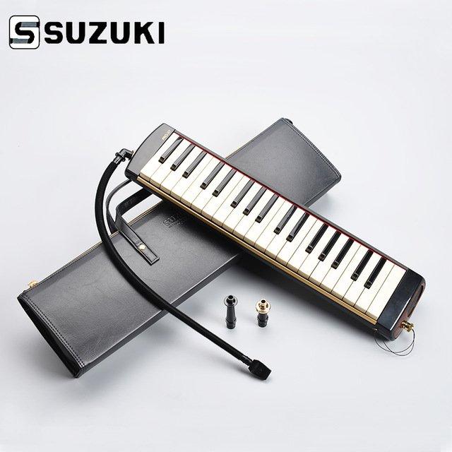 New Black Suzuki Pro-37v2 Melodion 37 Key Melodica