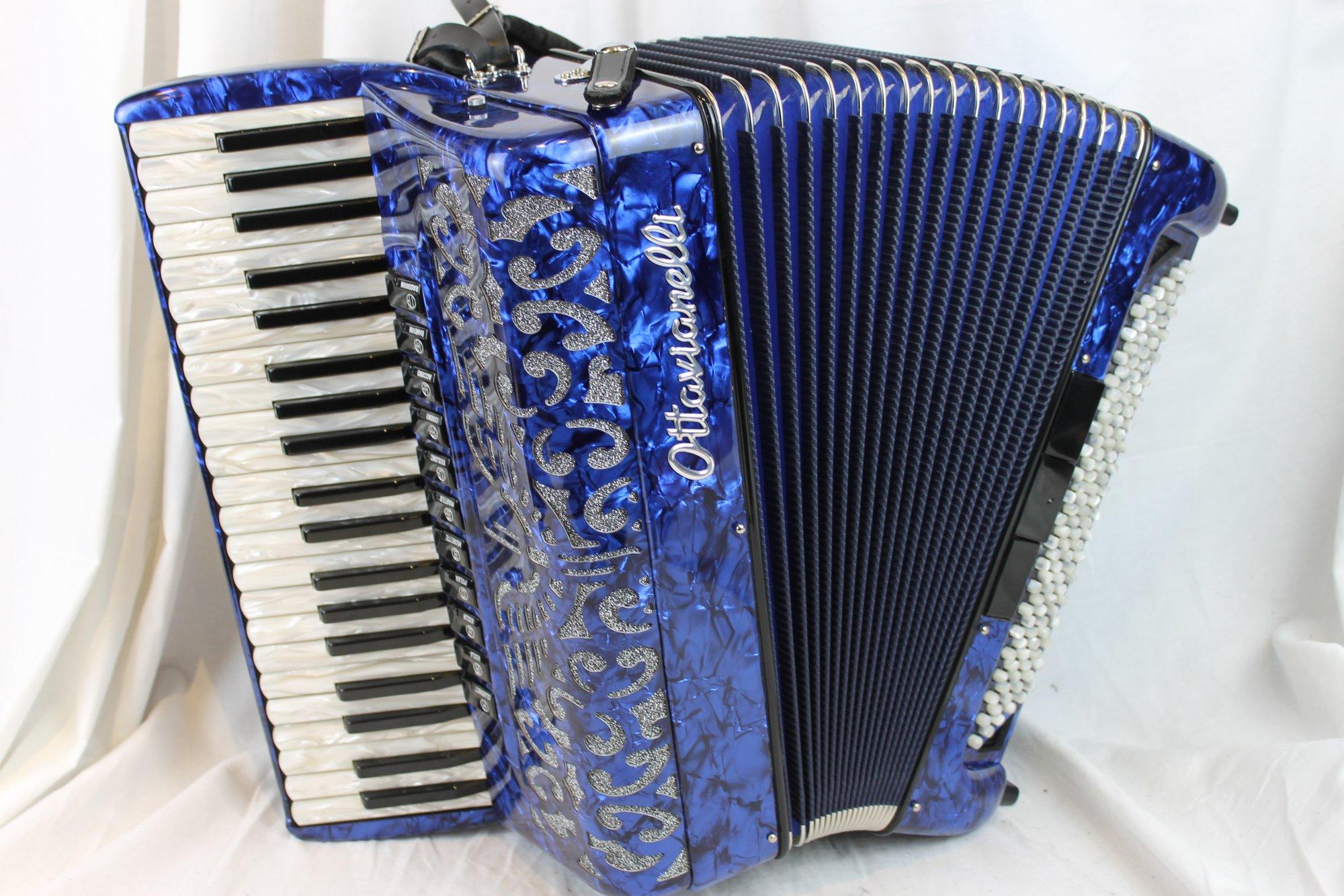 NEW Blue Ottavianelli Principessa II Piano Accordion LMMM 41 120