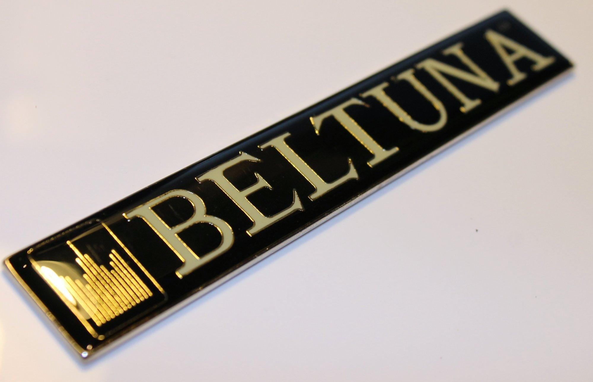 Accordion Part - Beltuna Logo Emblem